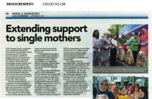 Extending Support To Single Mothers