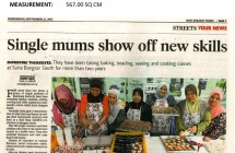 Single Mums Show Off New Skills