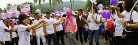 01 Dec 2013 ~ Walk The Talk – Stop Violence Against Women