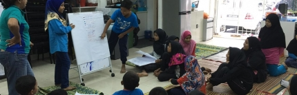 Creative Thinking Workshop at Suria Bangsar South